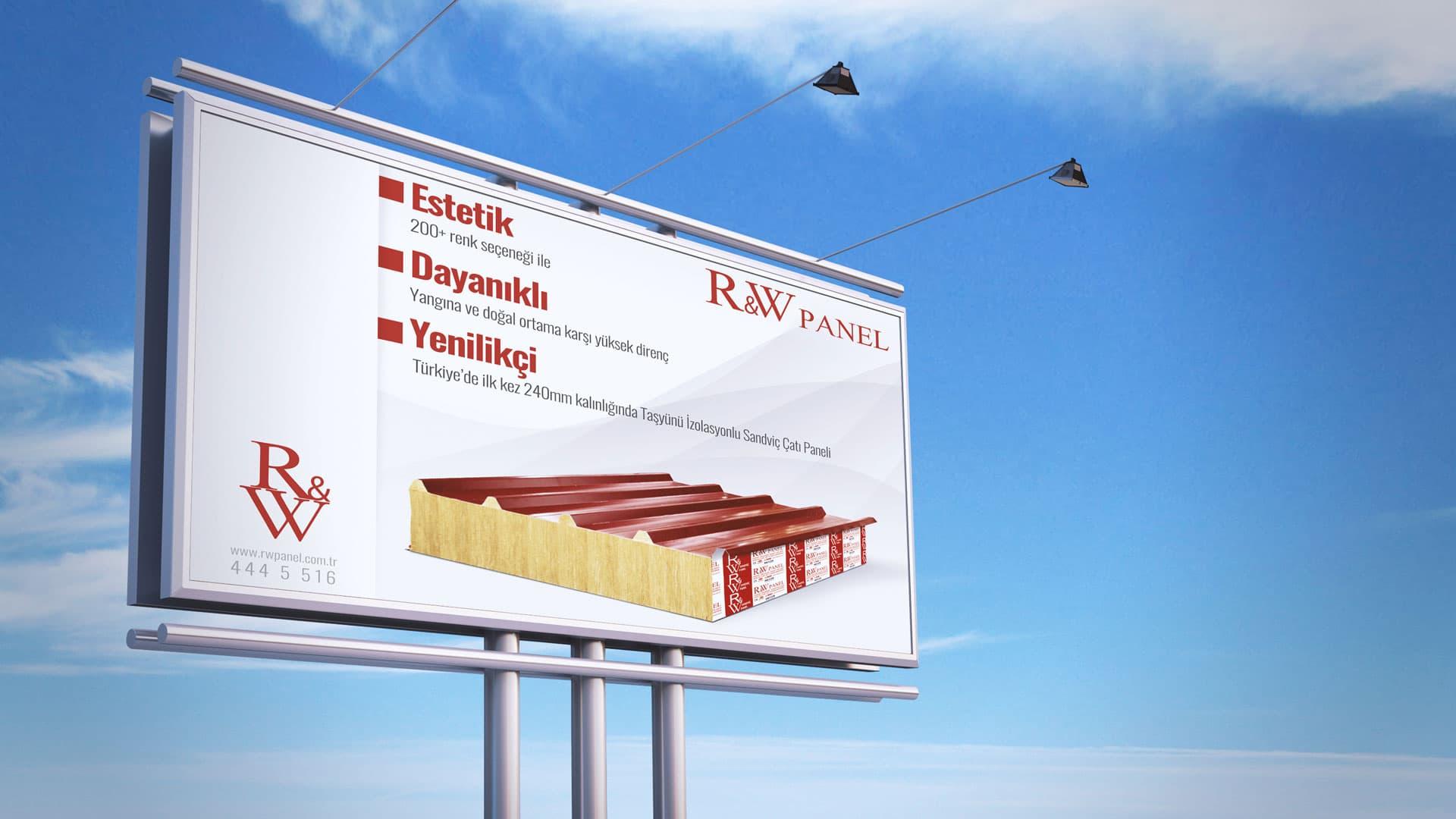 RW Panel - Bilboard Tasarımı