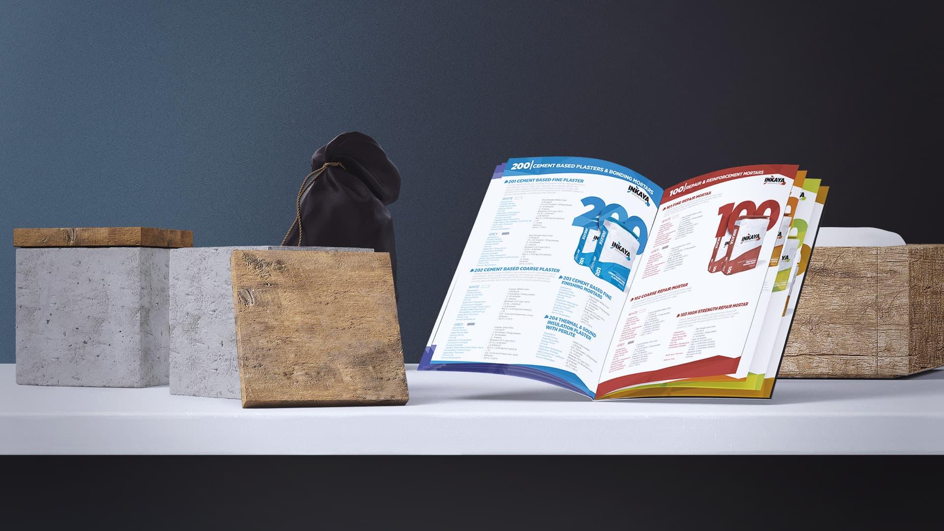 İnkaya - Katalog Tasarımı