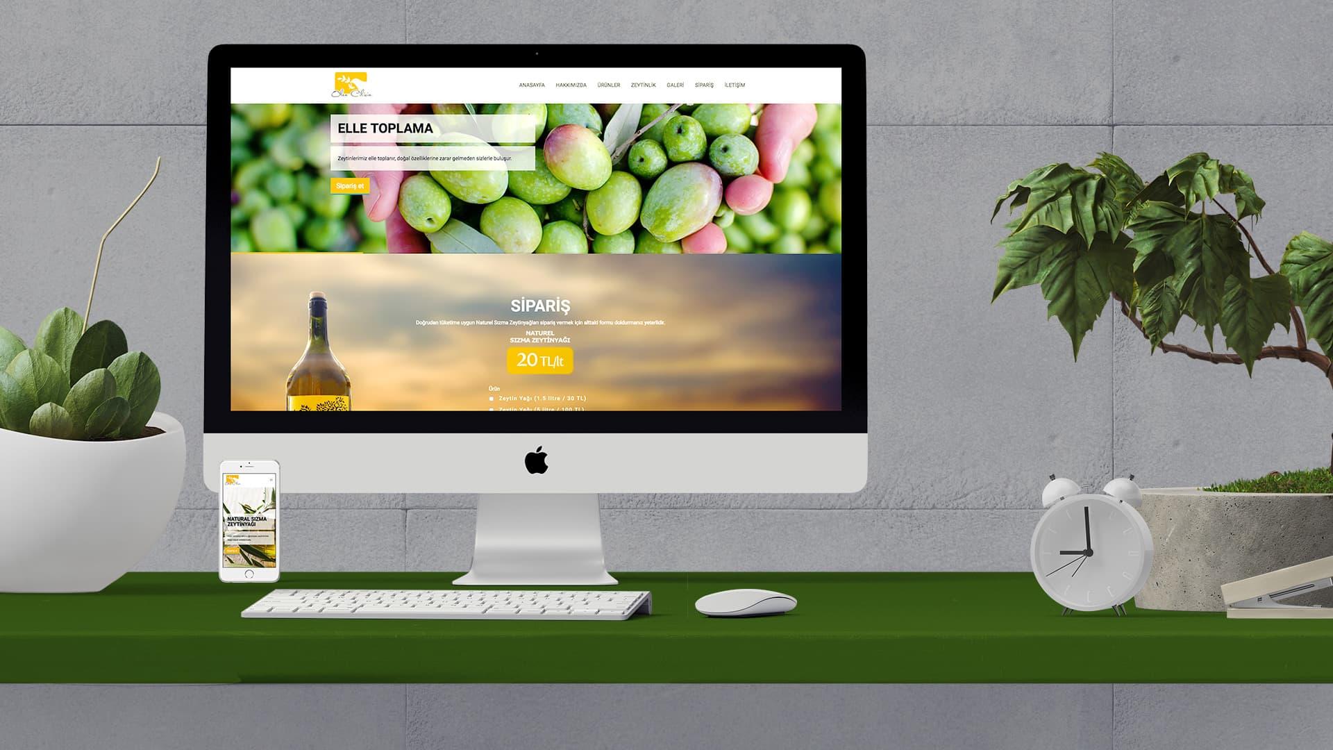 Olea Cilicia - İnternet Sitesi Tasarımı