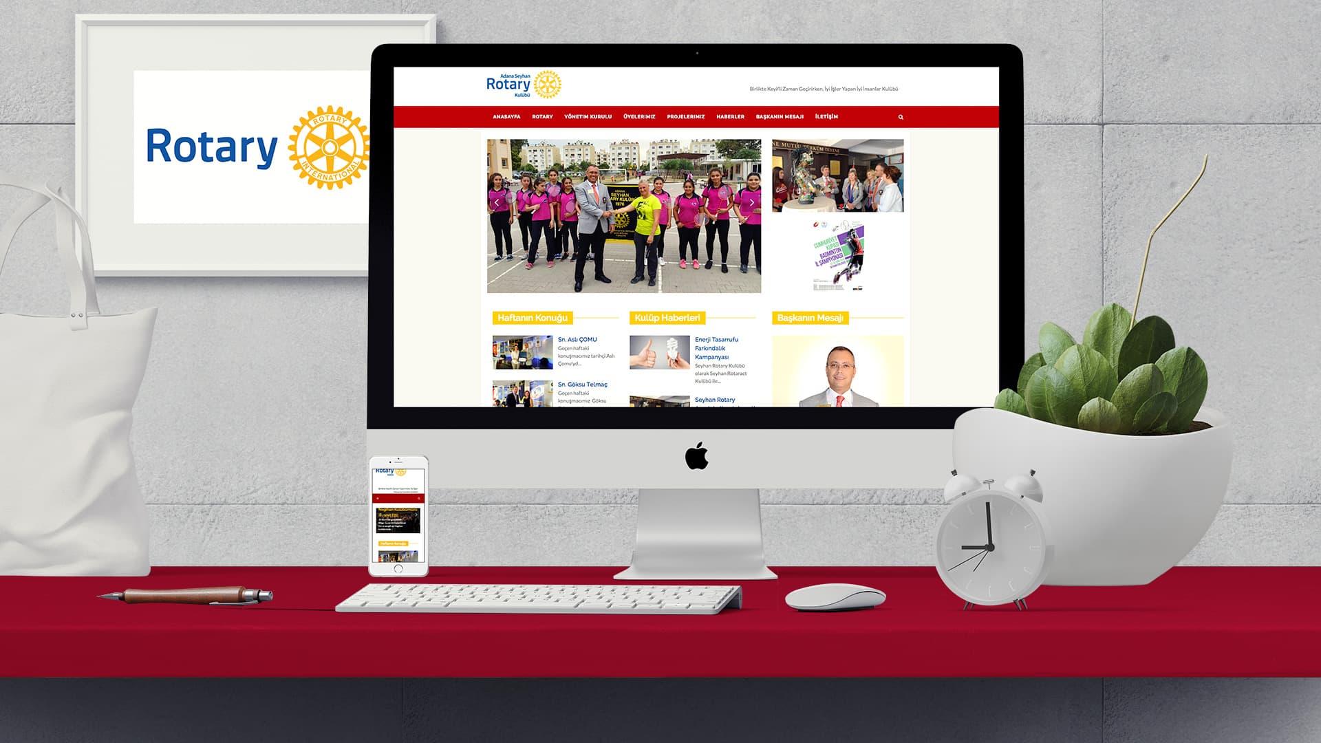 Seyhan Rotary - İnternet Sitesi Tasarımı