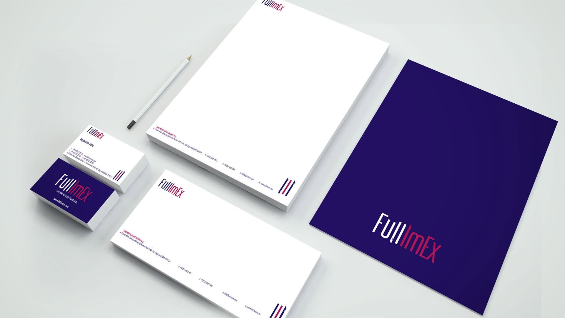 Fullimex - Kurumsal Kimlik Tasarımı