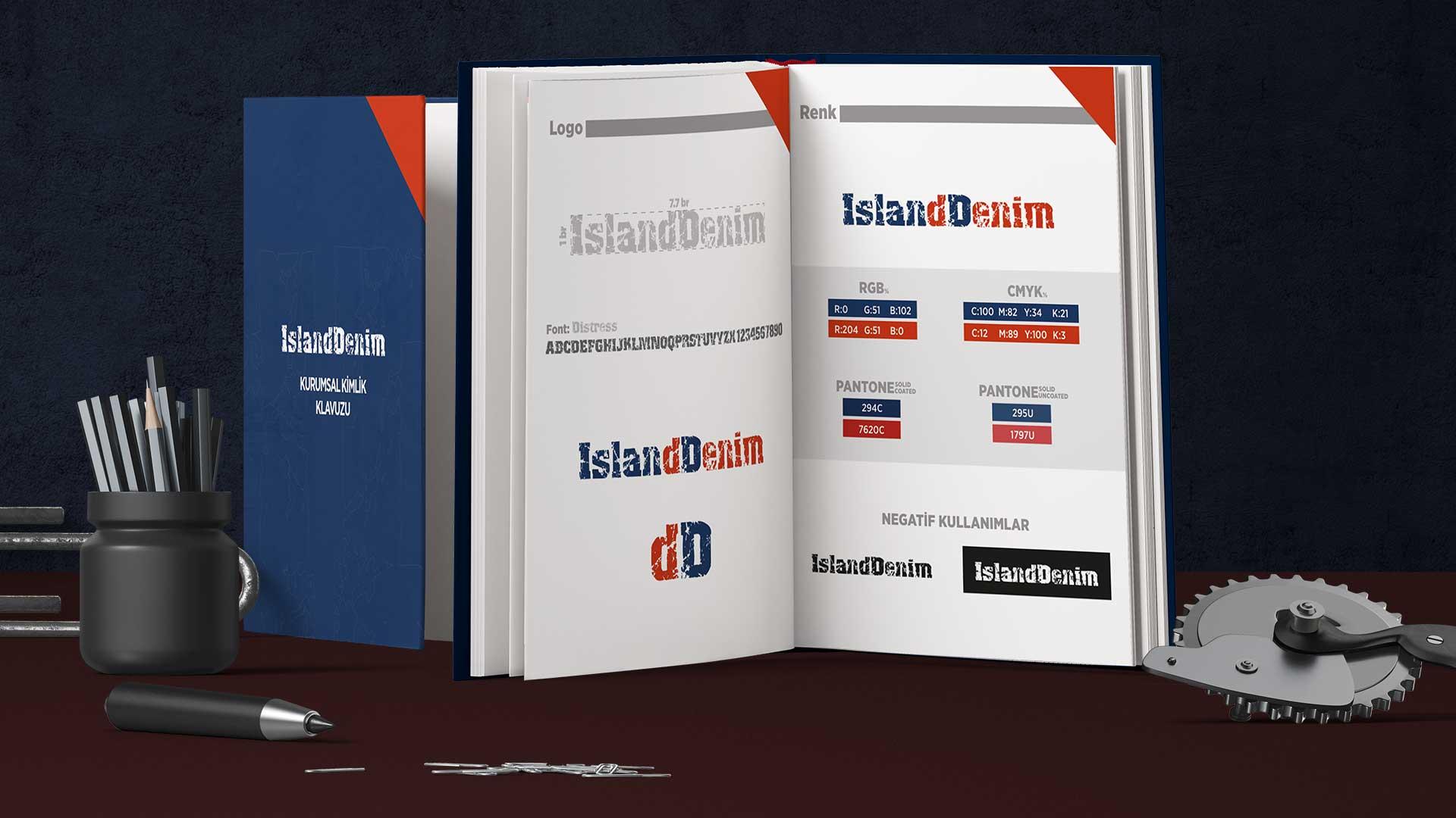 Island Denim - Katalog Tasarımı