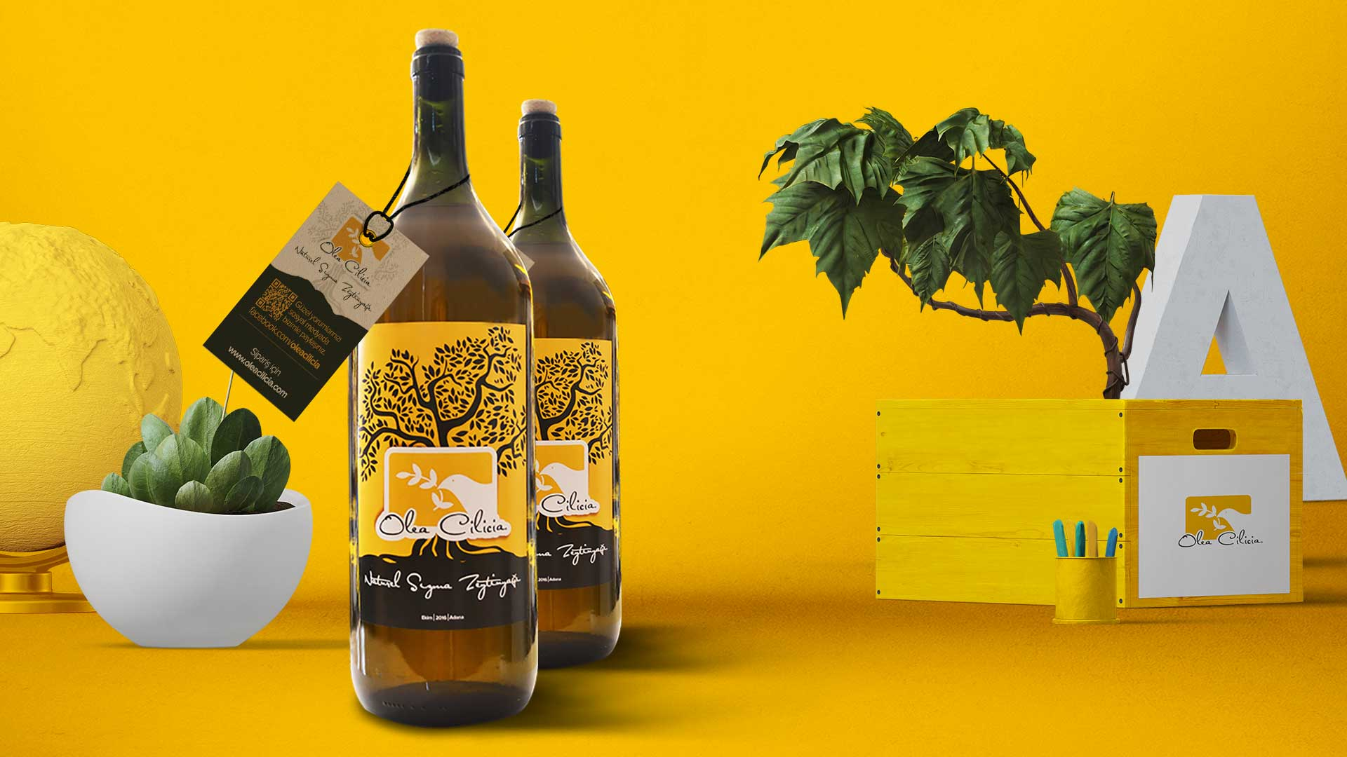 Olea Cilicia - Ambalaj & Etiket Tasarımı