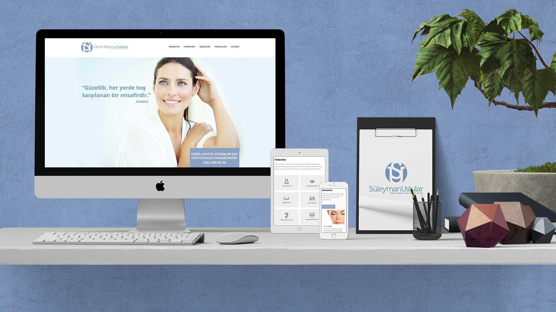 Süleyman Uslular - İnternet Sitesi Tasarımı