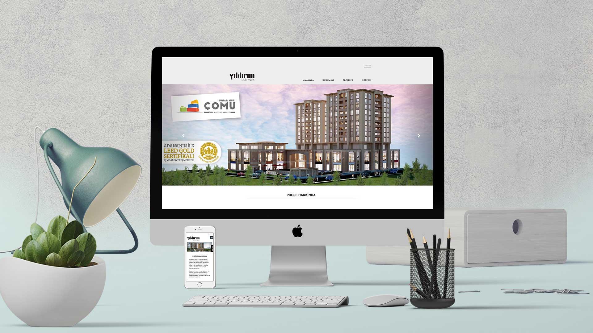 Yıldırım Proje - İnternet Sitesi Tasarımı