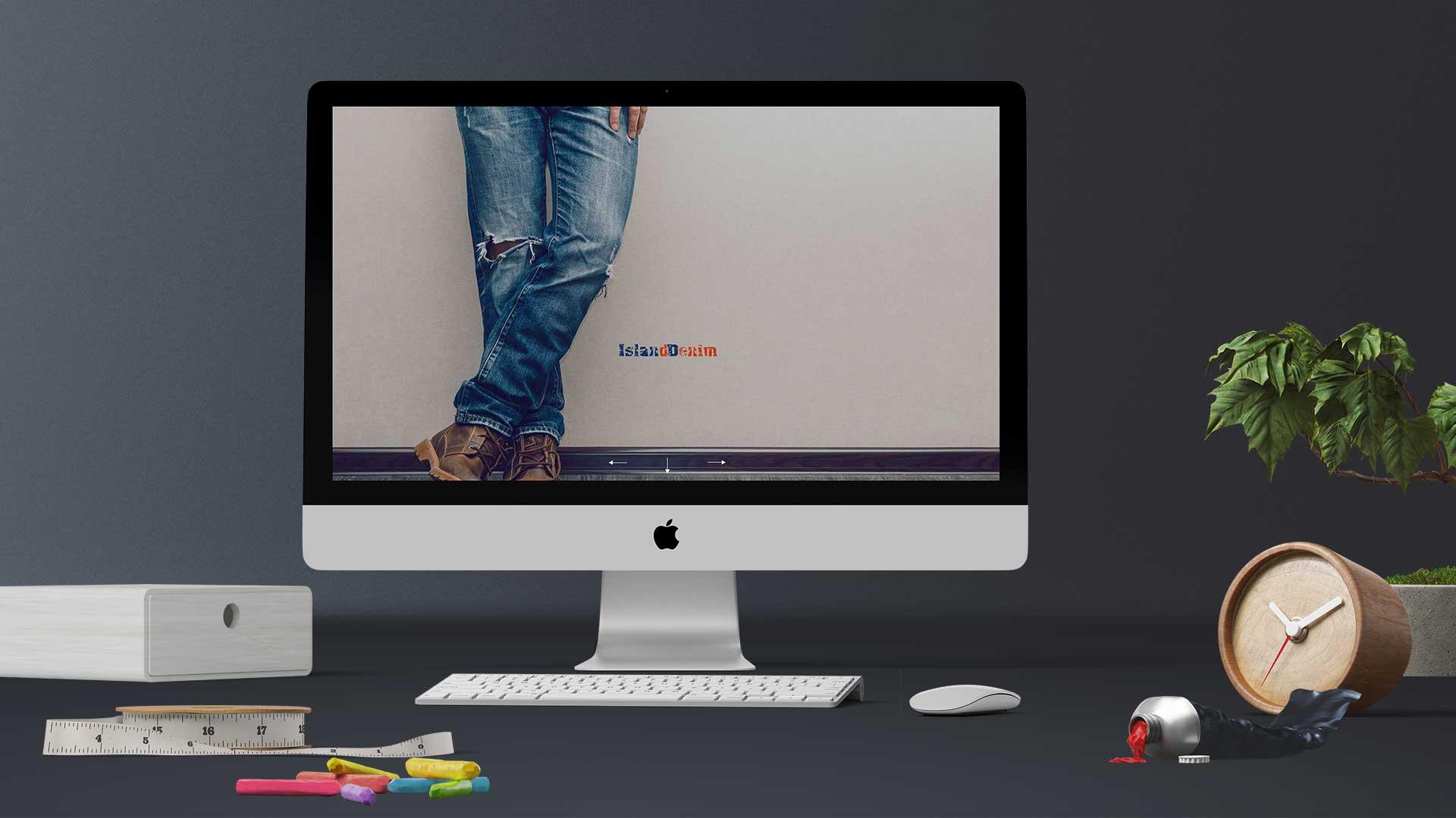 Island Denim - Web Sayfası Tasarımı