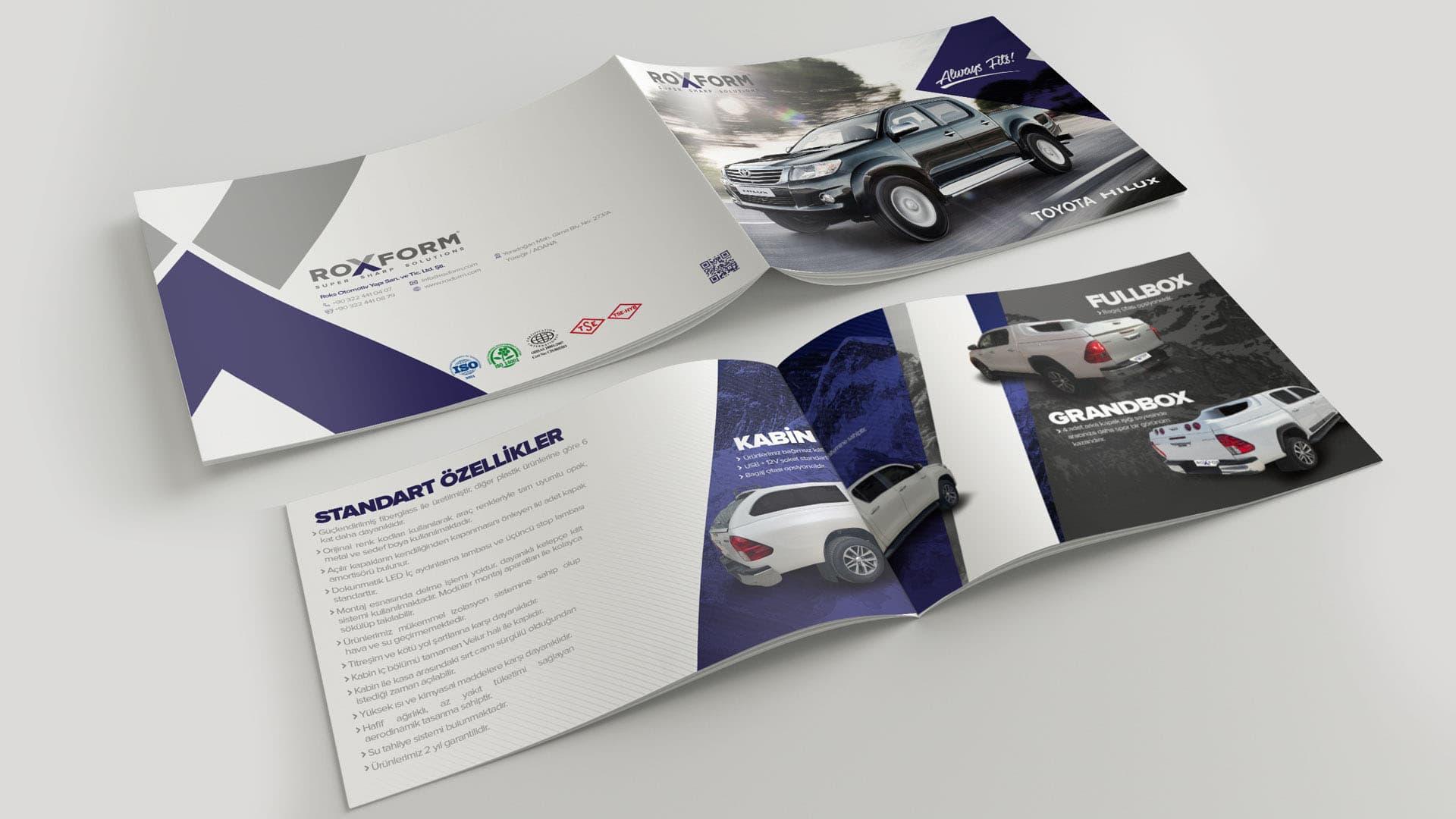 Roxform - Broşür Tasarımı