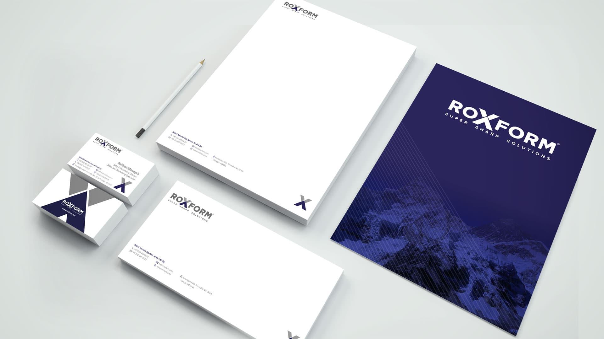 Roxform - Kurumsal Kimlik Tasarımı