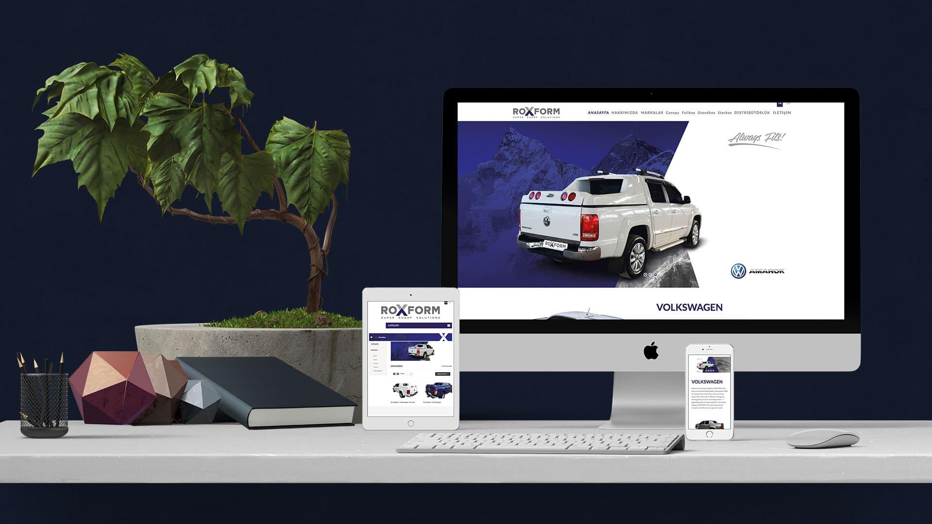Roxform - İnternet Sitesi Tasarımı