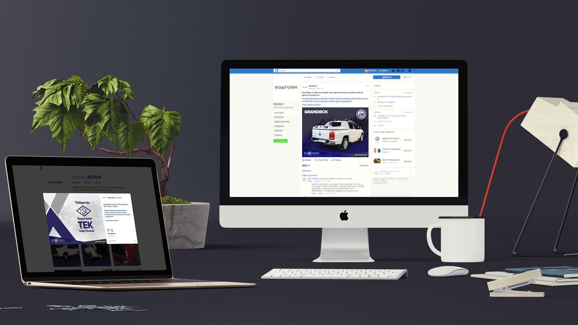 Roxform - Sosyal Medya Yönetimi