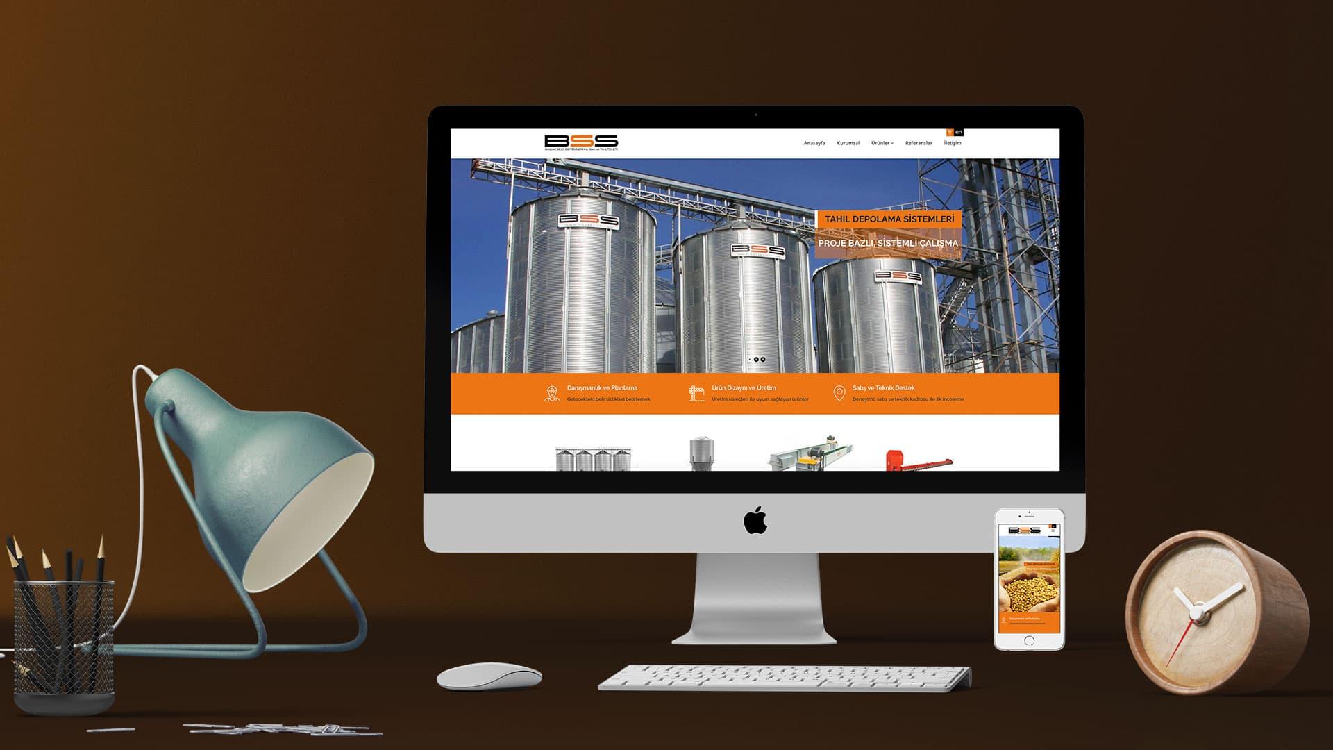 Başak Silo - Web Sitesi Tasarımı