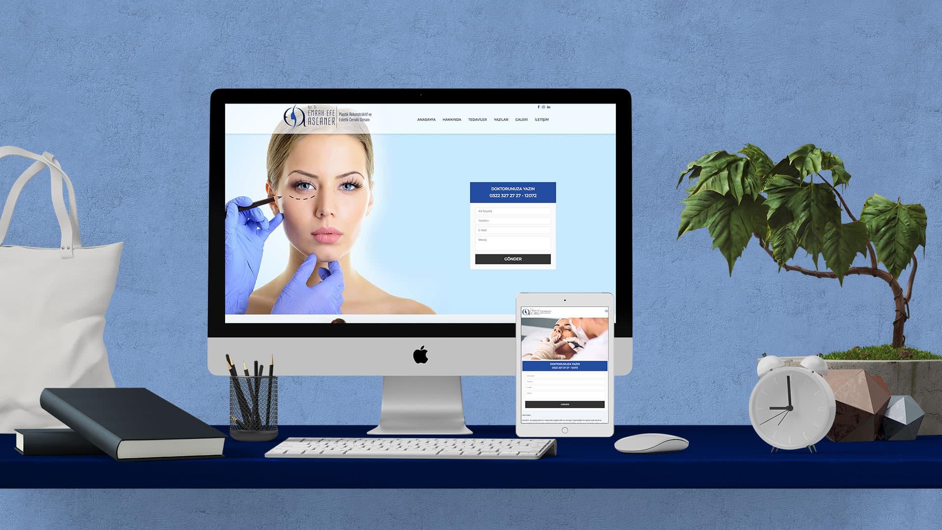 Emrah Efe Aslaner - İnternet Sitesi Tasarımı