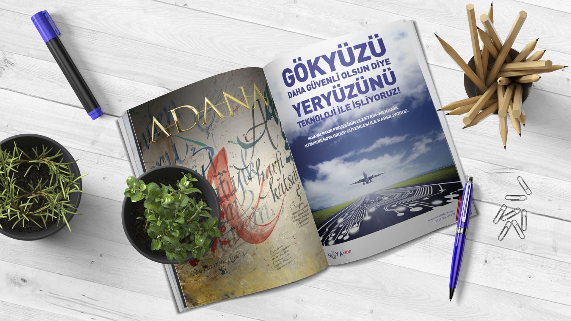 Noya Group - Dergi/Gazete İlan Tasarımı