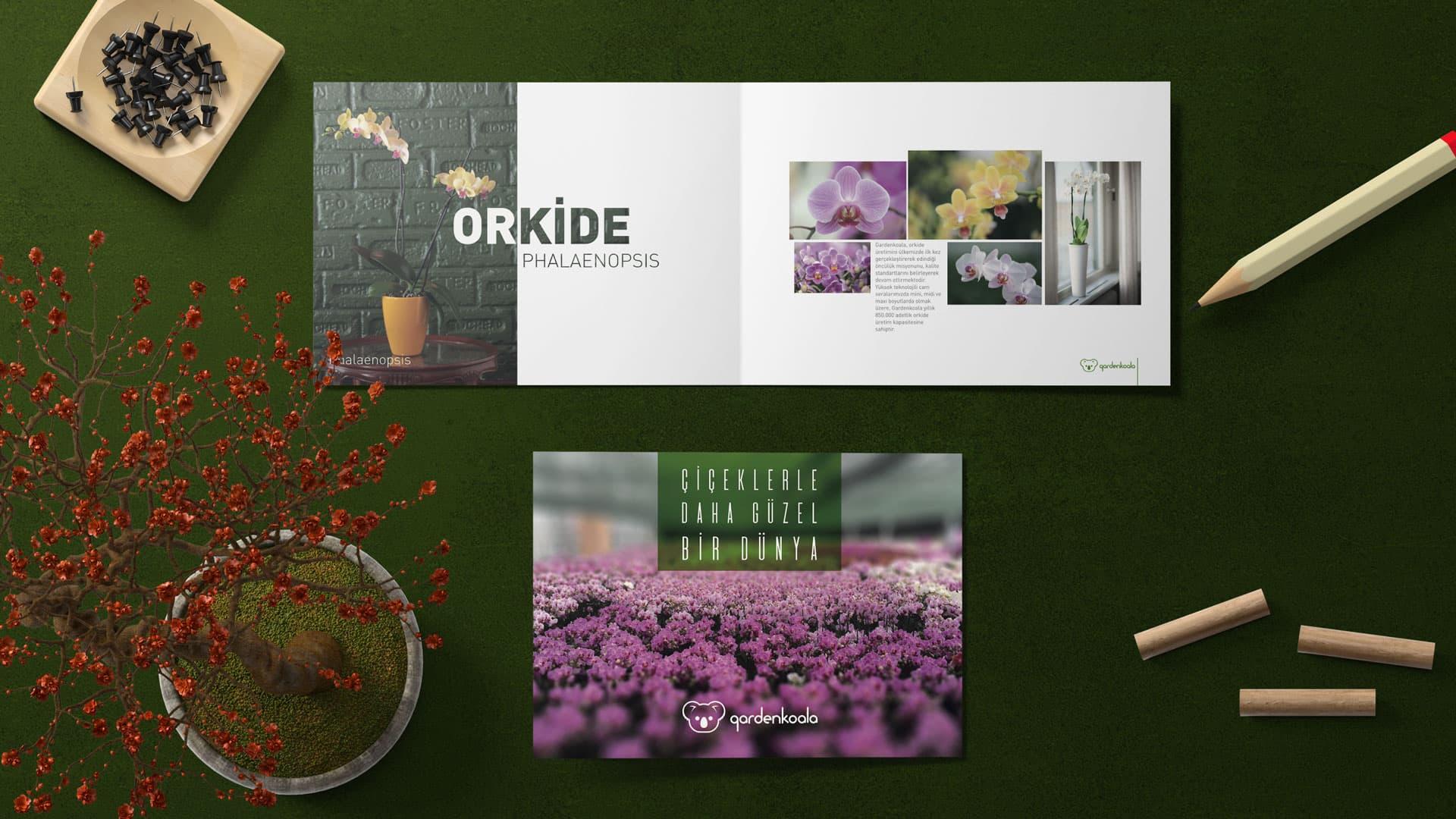 GardenKoala - Katalog Tasarımı