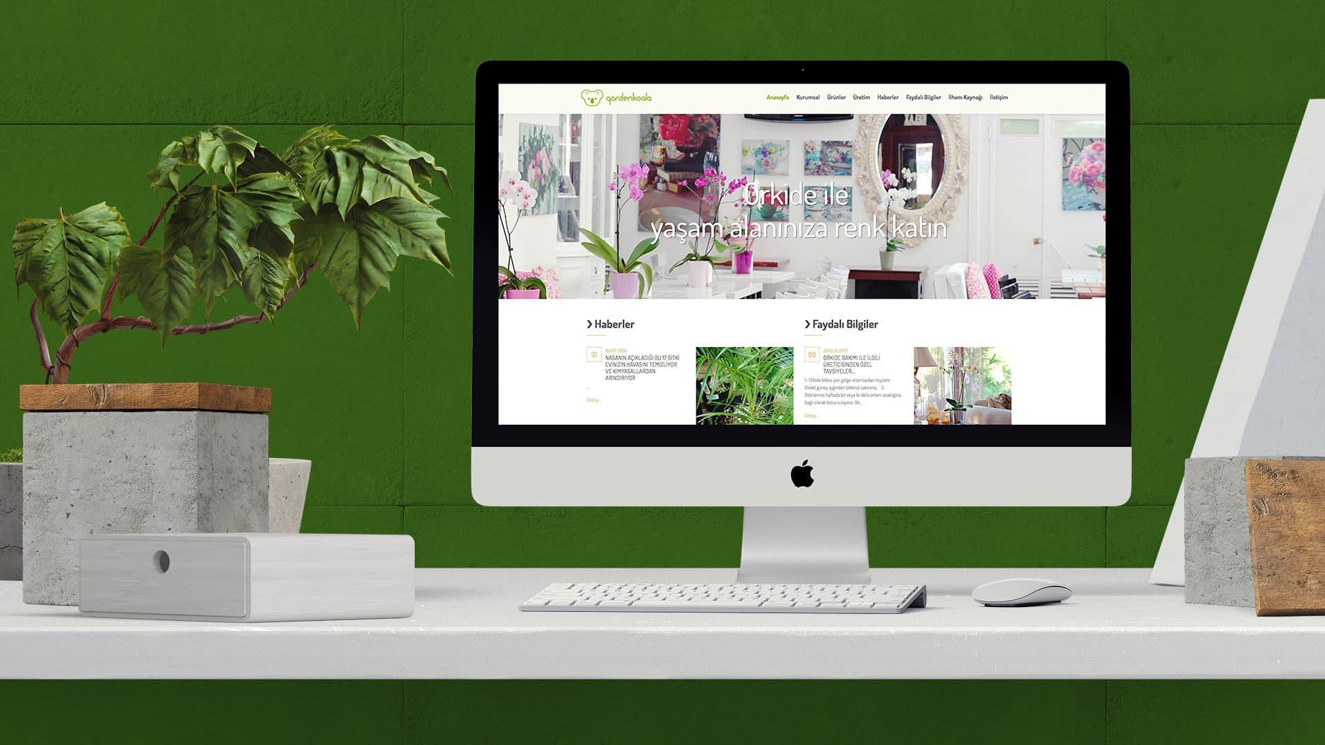 GardenKoala - Web Sayfası