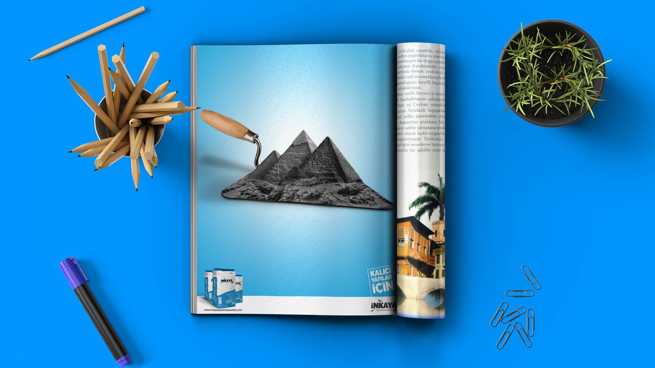 İnkaya Madencilik - Dergi İlanı