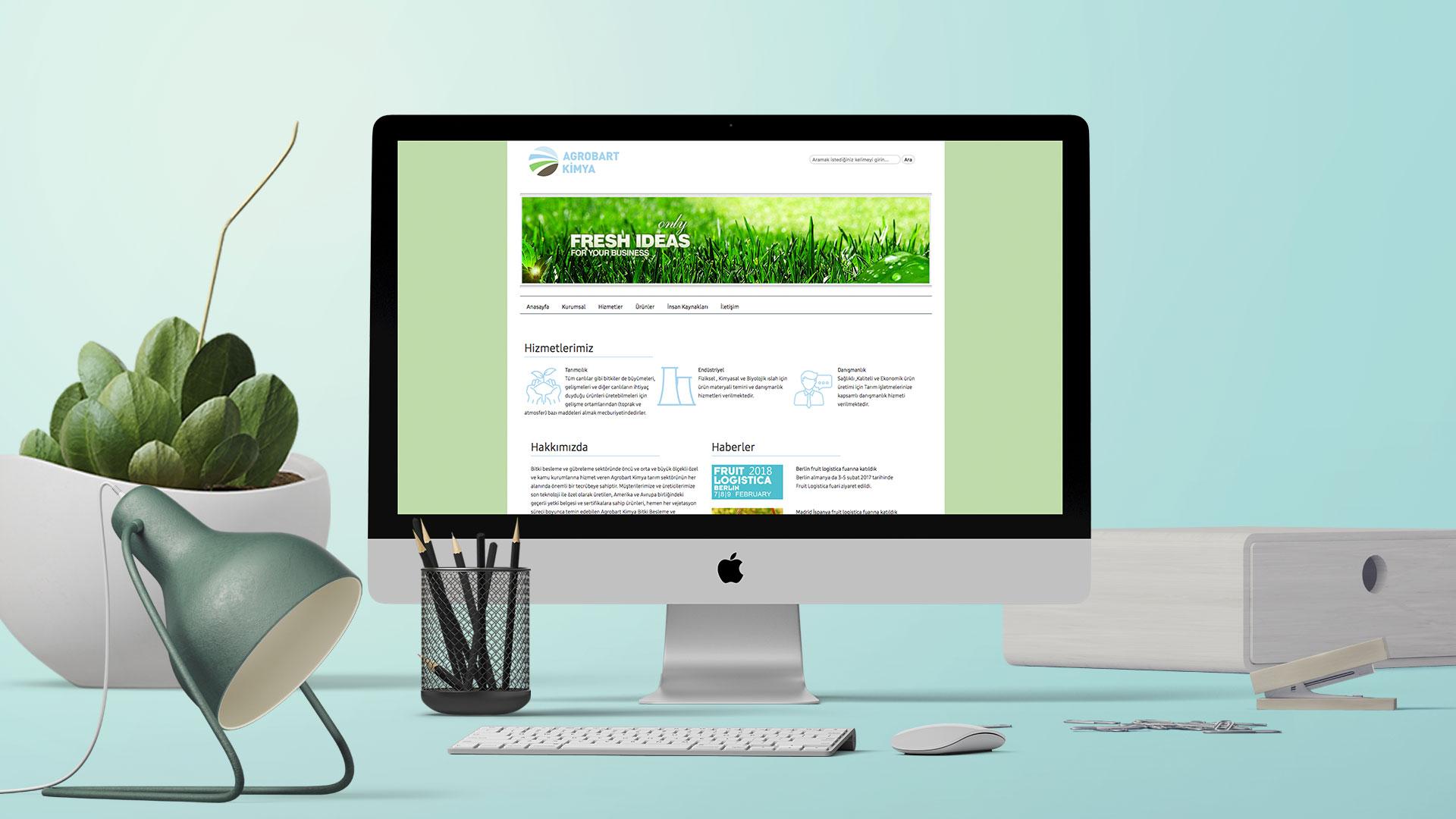 Agrobat Kimya - Web Sayfası