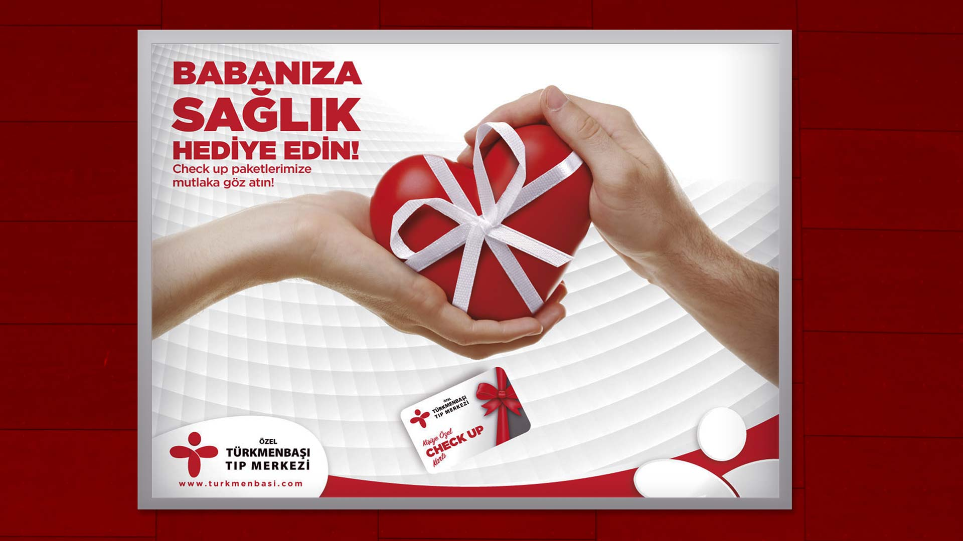 Türkmenbaşı Tıp Merkezi - Açıkhava İlan Tasarımı