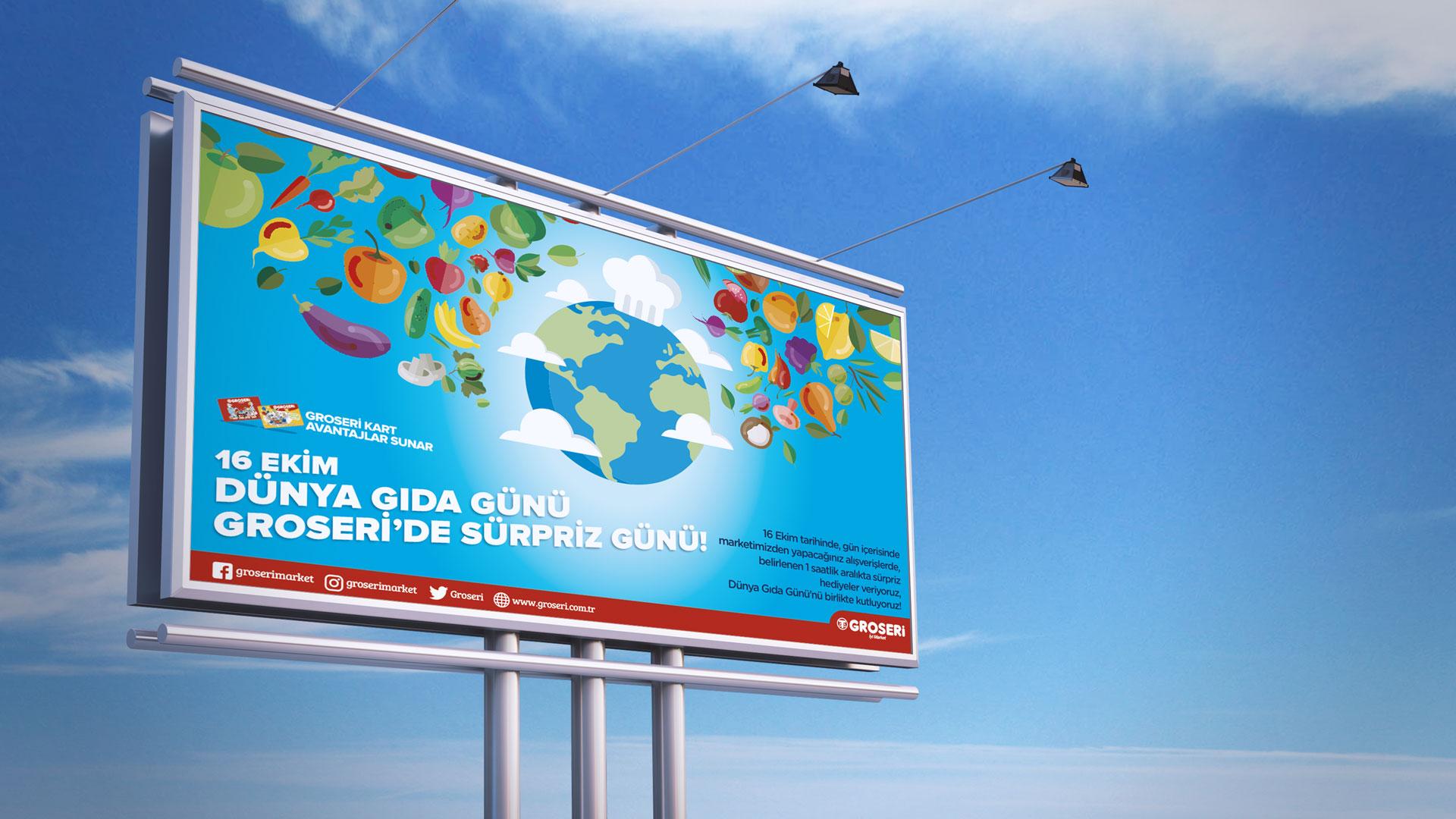 Groseri - Billboard Tasarımı