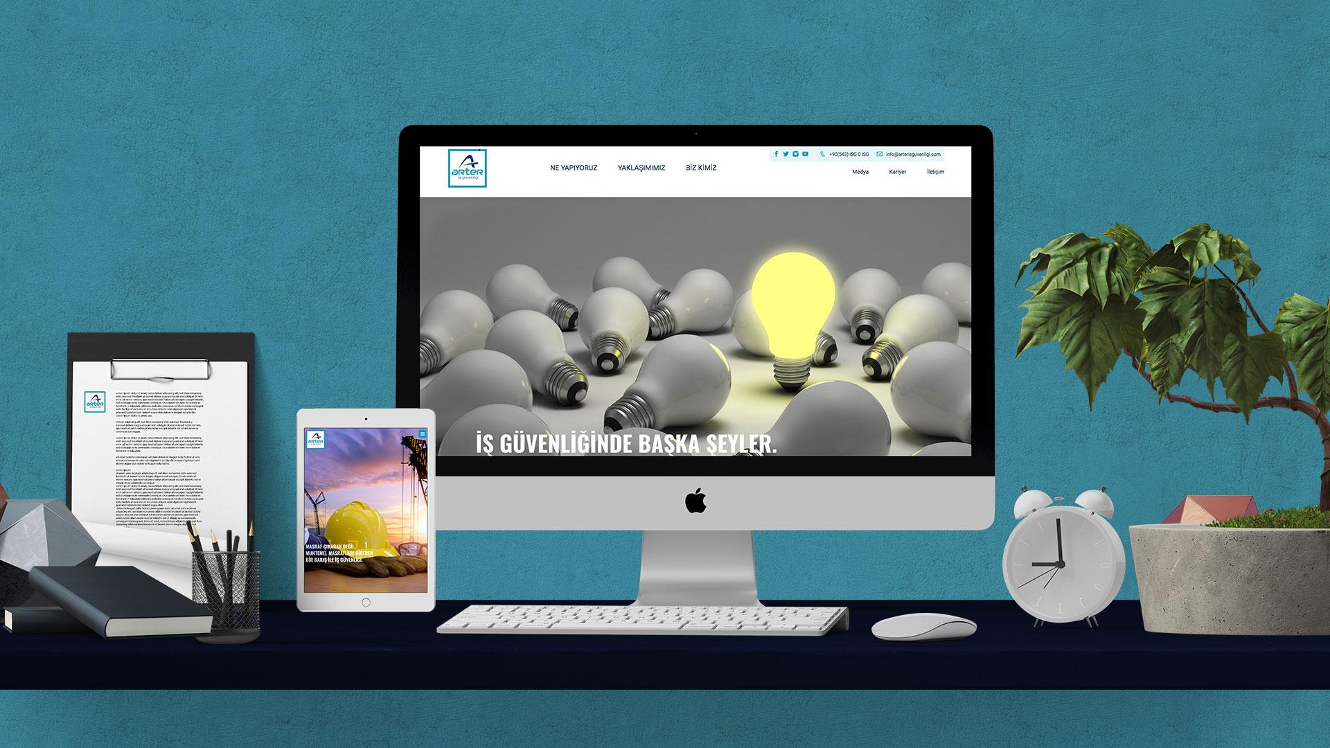 ARTER İŞ GÜVENLİĞİ - WEB SAYFASI