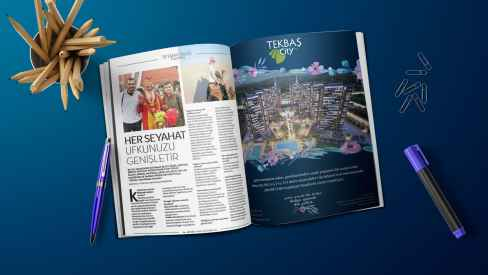 Tekbaş Yapı - Dergi, Gazete İlanları
