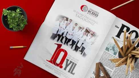 Galleria KBB Merkezi - Dergi, Gazete İlanları