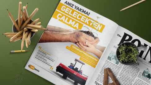 Sissan Makina - Dergi, Gazete İlanları