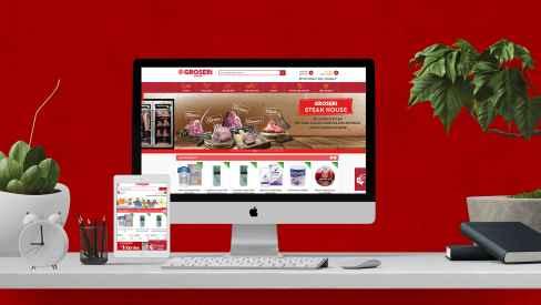 Groseri - Web Sitesi