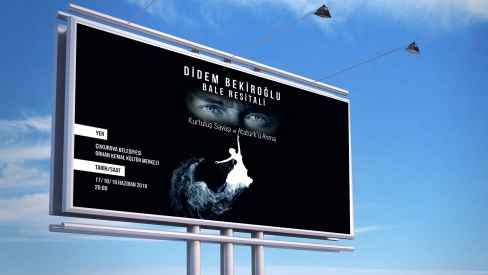 Didem Bekiroğlu Özel Bale Kursu - Poster-Afiş