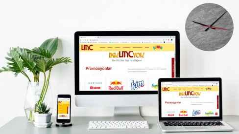LMC GIDA - Web Sitesi