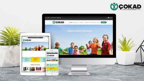 ÇOKAD (Çocuk Kanser Derneği) - Web Sitesi